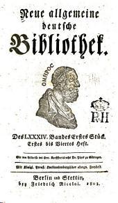 Neue allgemeine deutsche Bibliothek: Band 84