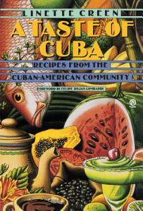 A Taste of Cuba Book