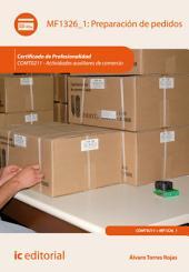 Preparación de pedidos. COMT0211