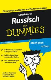 Sprachf?hrer Russisch f?r Dummies Das Pocketbuch