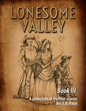 Lonesome Valley: Book III a Collection of Frontier Stories by J. B. Patel