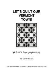 Vermont Quiz Bowl Crash Course  PDF