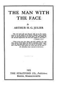 The Man with the Face PDF