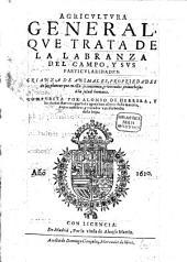 Libro de Agricultura