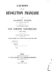L'Europe et la révolution française: ptie. Ouvrage couronné par l'Académiefrançais, grand prix Cobert