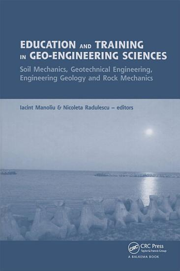 Education and Training in Geo Engineering Sciences PDF