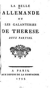 La Belle Allemande; ou, Les Galanteries de Therèse