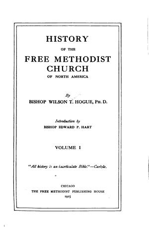 History of the Free Methodist Church of North America