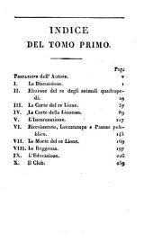 Gli animali parlanti: poema epico, diviso in ventisei canti, Volume 1