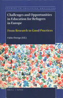Challenges and Opportunities in Education for Refugees in Europe PDF