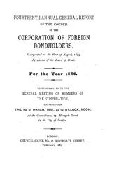 Annual Report of the Council of the Corporation of Foreign Bondholders: Issue 14