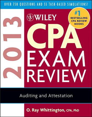 Wiley CPA Exam Review 2013  Auditing and Attestation PDF