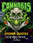 Stoner Quotes Coloring Book for Adults