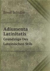 Adiumenta Latinitatis