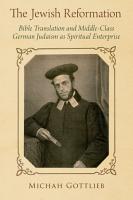 The Jewish Reformation PDF