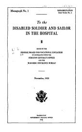 Rehabilitation monograph: Joint series, Volume 1