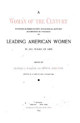 A Woman of the Century PDF