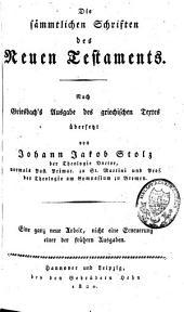 Das Neue Testament: die sämmtlichen Schriften des Neuen Testaments