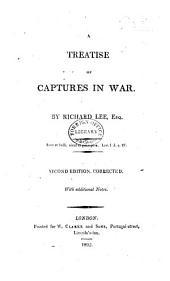 A Treatise of Captures in War