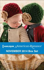 Harlequin American Romance November 2014 Box Set: The SEAL's Holiday Babies\The Texan's Christmas\Cowboy for Hire\The Cowboy's Christmas Gift