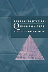 Sexual Identities Queer Politics Book PDF