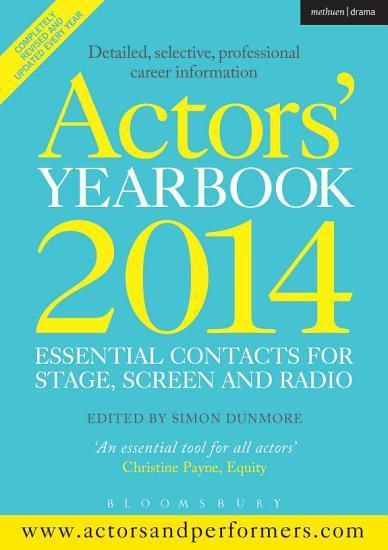 Actors  Yearbook 2014 PDF