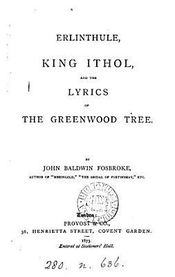 Erlinthule  king Ithol and the lyrics of the greenwood tree PDF