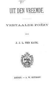 Uit den vreemde: vertaalde poëzy