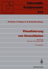 Visualisierung von Umweltdaten: Rostock, 20. November 1990 Proceedings