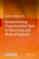 Nanotechnology Characterization Tools for Biosensing and Medical Diagnosis PDF