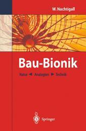 Bau-Bionik: Natur ← Analogien → Technik