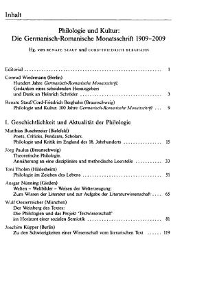 Germanisch Romanische Monatsschrift PDF