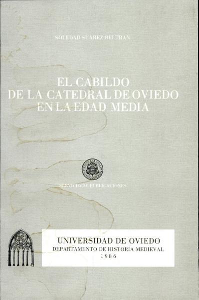 El Cabildo De La Catedral De Oviedo En La Edad Media
