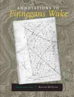 Annotations to Finnegans Wake PDF