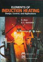 Elements of Induction Heating PDF
