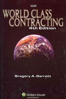 World Class Contracting PDF