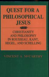Quest for a Philosophical Jesus