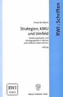 Strategien  KMU und Umfeld PDF