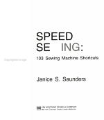 Speed Sewing PDF