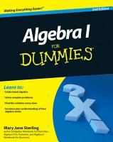 Algebra I For Dummies PDF