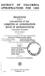 District of Columbia Appropriations for 1969
