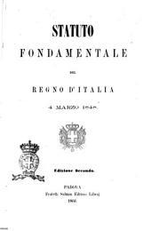 Statuto fondamentale del Regno d'Italia, 4 marzo 1848
