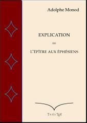 Explication de l'épître aux Éphésiens