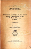 Index of Publications of the Geological Survey of Canada PDF