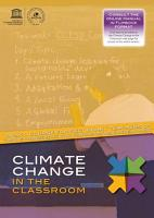 Climate Change in the Classroom  Secondary Teacher Education Course on Climate Change Education for Sustainable Development PDF