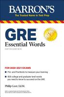 GRE Essential Words PDF