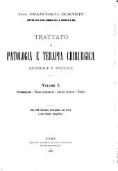 Trattato di patologia e terapia chirurgica, generale e speciale: Volume 1