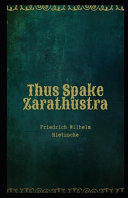 Thus Spake Zarathustra Illustrated Book PDF