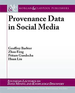 Provenance Data in Social Media Book