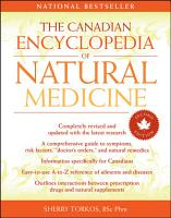 The Canadian Encyclopedia of Natural Medicine PDF